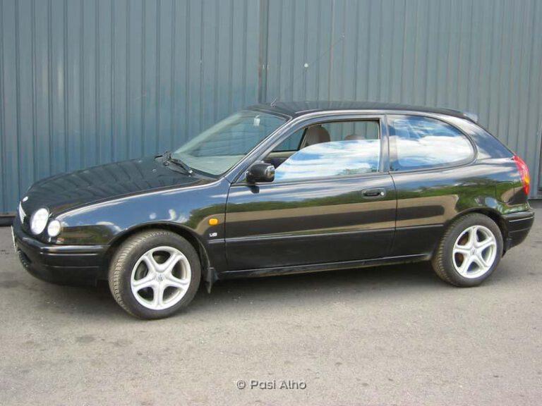 Toyota Corolla Hatchback 1,6 1998