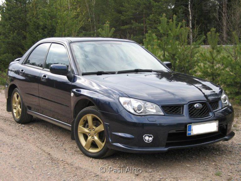 Subaru Impreza 2.0R AWD MY06